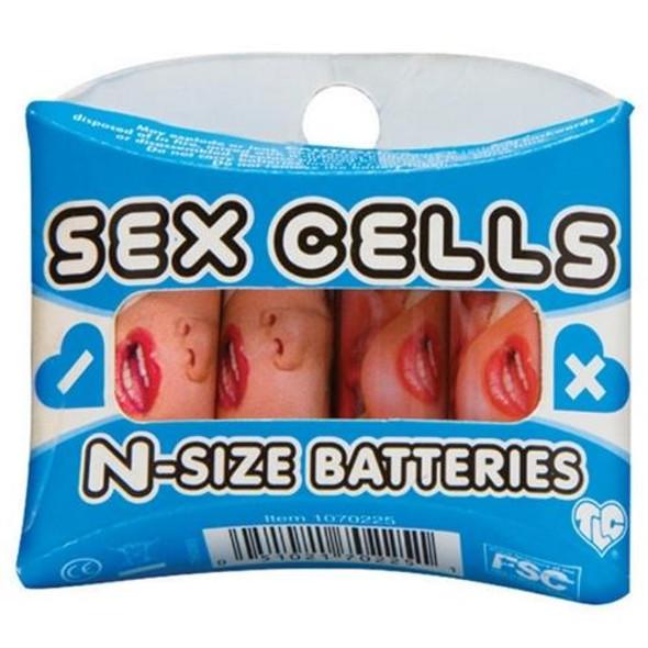 Sex Cells N Size Batteries 4 Pack