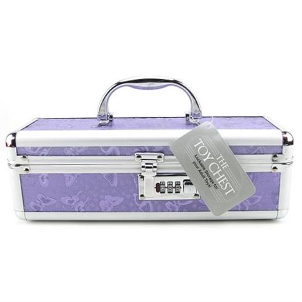 Lockable Toy Chest - Purple