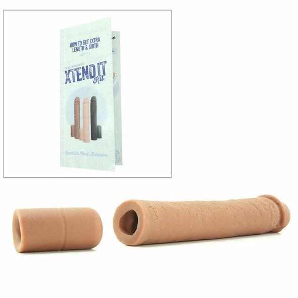 Extend It Kit Realistic Penis Extender - Brown