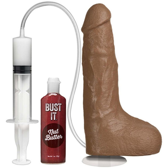 Bust It Squirting Realistic Cock - Brown