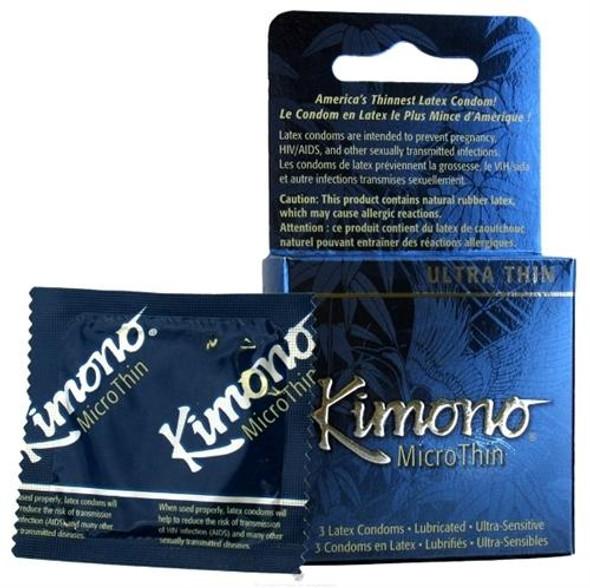 Kimono Micro Thin Condoms 3 Pack