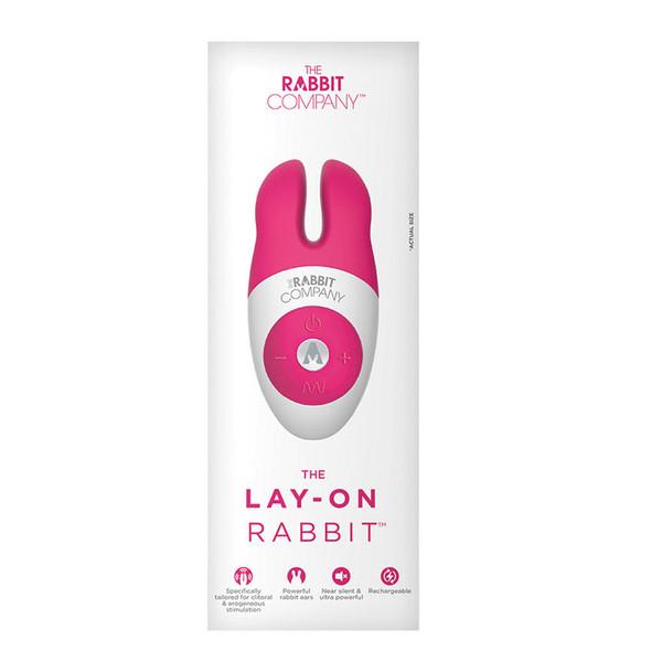 Lay-On Rechargeable Rabbit Vibrator