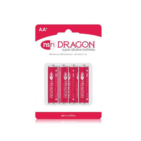 Dragon Batteries AA 4 Pack