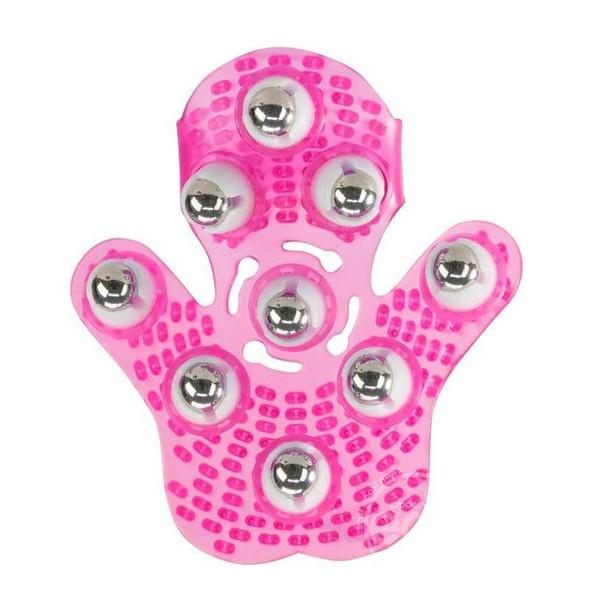 Simple & True Roller Balls Massager Glove