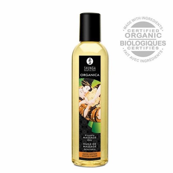 Shunga Kissable Massage Oil - Organica