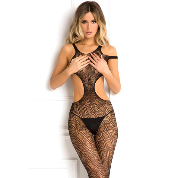 Rene Rofe Made the Cut Crotchless Bodystocking