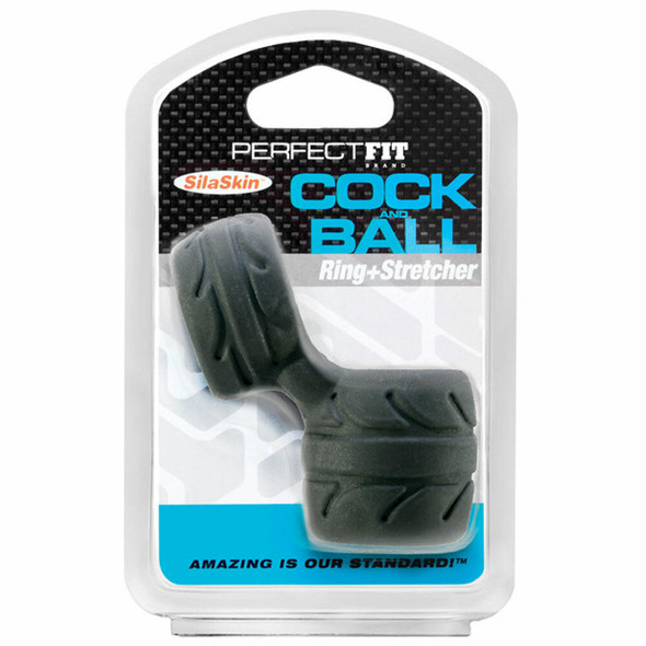 Perfect Fit SilaSkin Cock & Ball Ring - Pkg