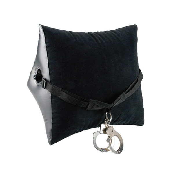 Fetish Fantasy Series Deluxe Position Master Inflatable Pillow With Cuff