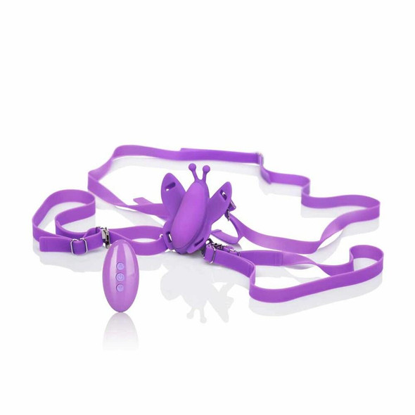 Remote Controlled Silicone Venus Butterfly Vibrator