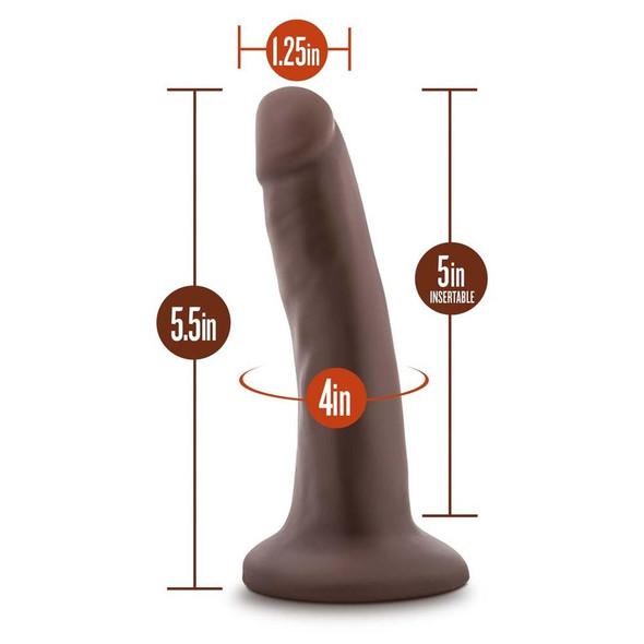 "Skin 5.5"" Dildo  Measurements"