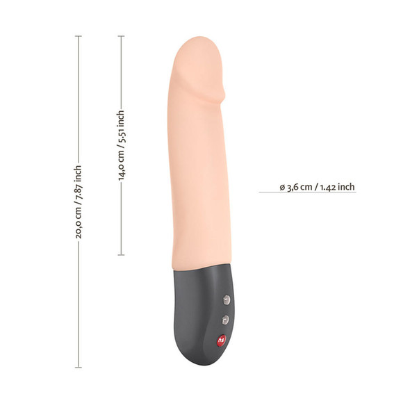 Fun Factory Stronic Real Thrusting Vibrator Dimensions
