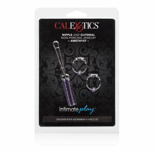 Nipple & Clitoral Non-Piercing Jewelry - Amethyst