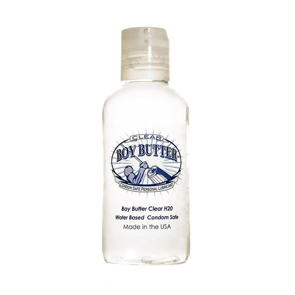 Boy Butter Clear H2O Lubricant