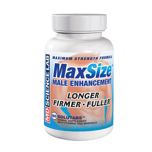 Max Size 60 Tablets