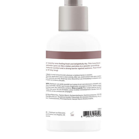 Coochy Oh So Fresh Intimate Protection Lotion Label