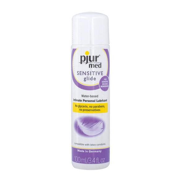 Pjur Med Sensitive Glide Water based Intimate Personal Lubricant 3.4