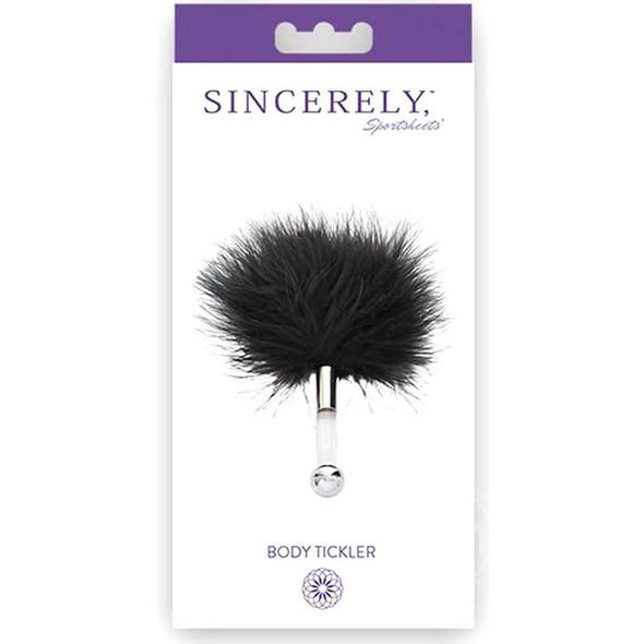 Sincerely Body Tickler Packaging