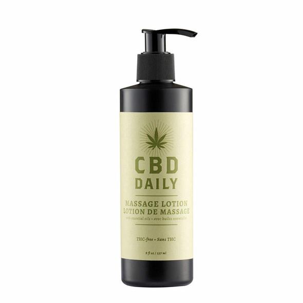 Earthly Body CBD Massage Oil with Hemp