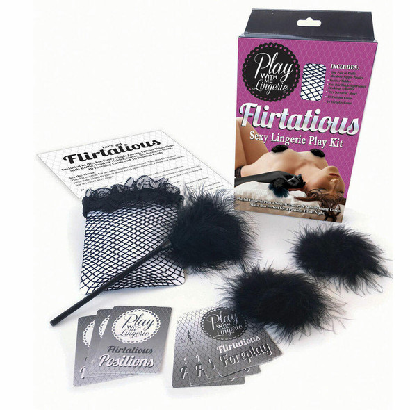 Flirtatious Play With Me Lingerie & Game Kit