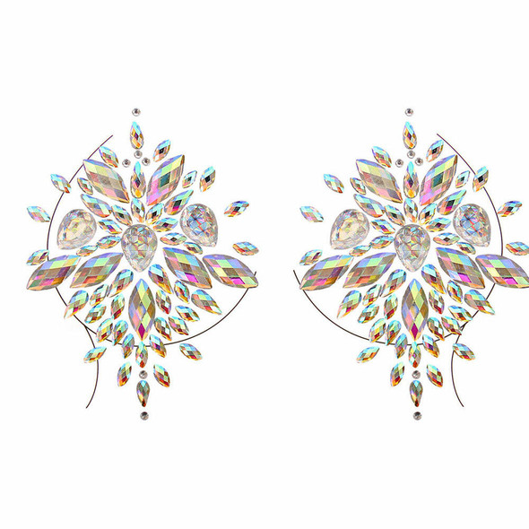 Starling Adhesive Nipple Jewels Stickers