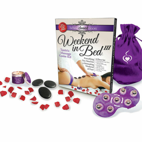 Weekend in Bed Tantric Massage Game Kit