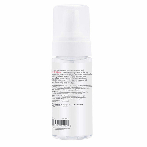 Fresh and Clean Foaming Toy Cleaner Details