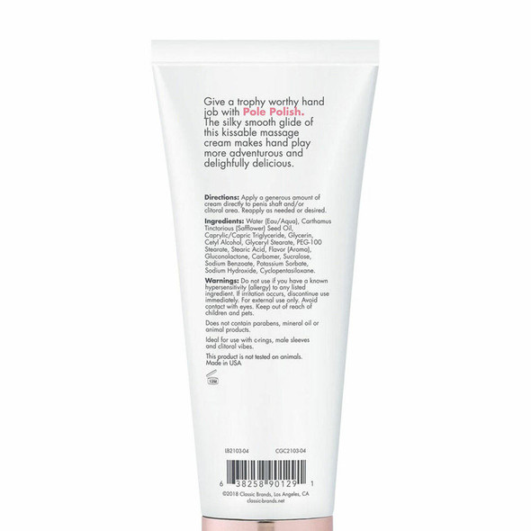 Pole Polish Kissable Massage Cream