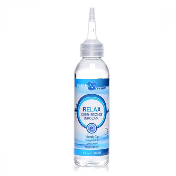 Clean Stream Relax Desensitizing Lubricant with Nozzle Tip