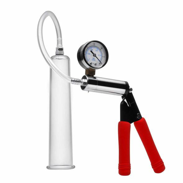 Size Matters Deluxe Steel Handle Pump