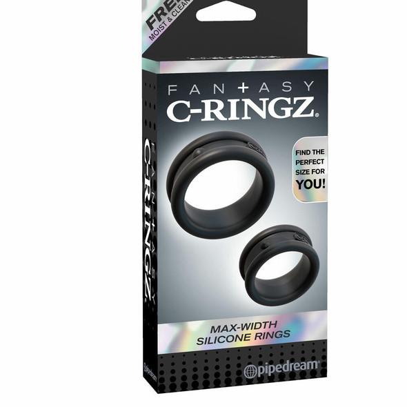 Fantasy C Ringz Max Width Silicone Rings Box
