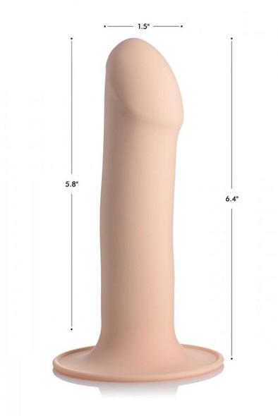 Squeezable Phallic Dildo Dimensions