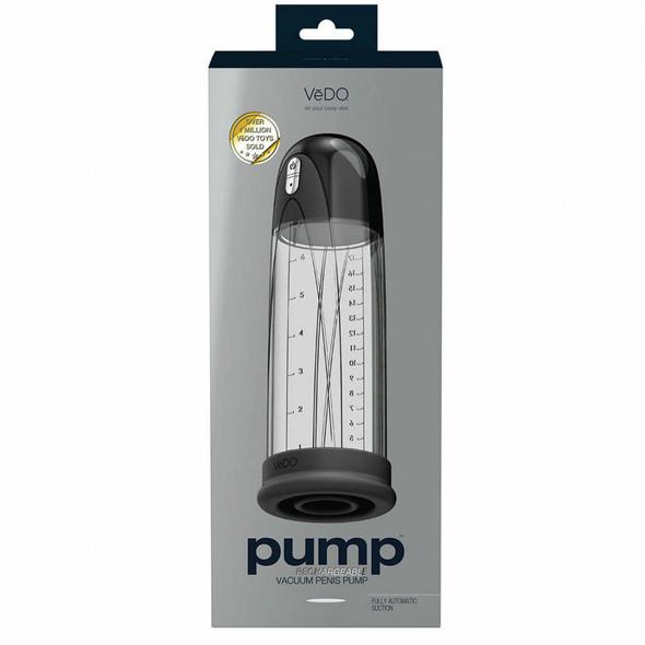 VEDO Pump Rechargeable Vacuum Penis - Box
