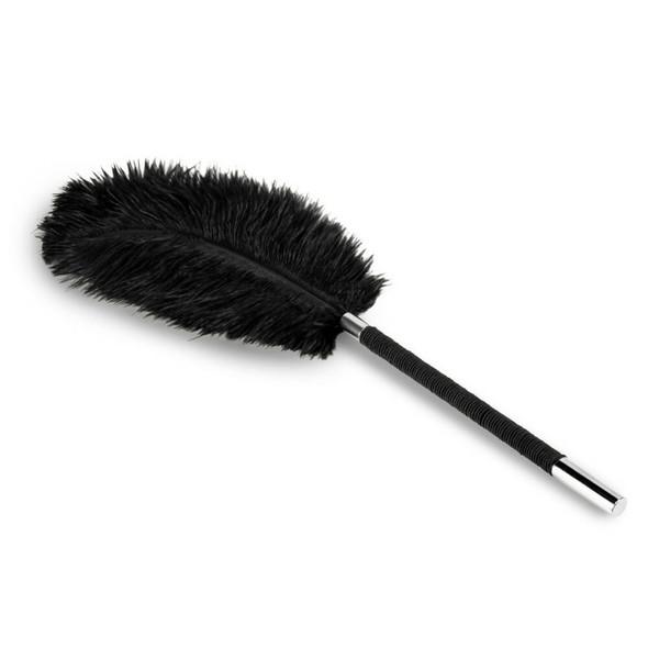 Noir Black Feather Tickler