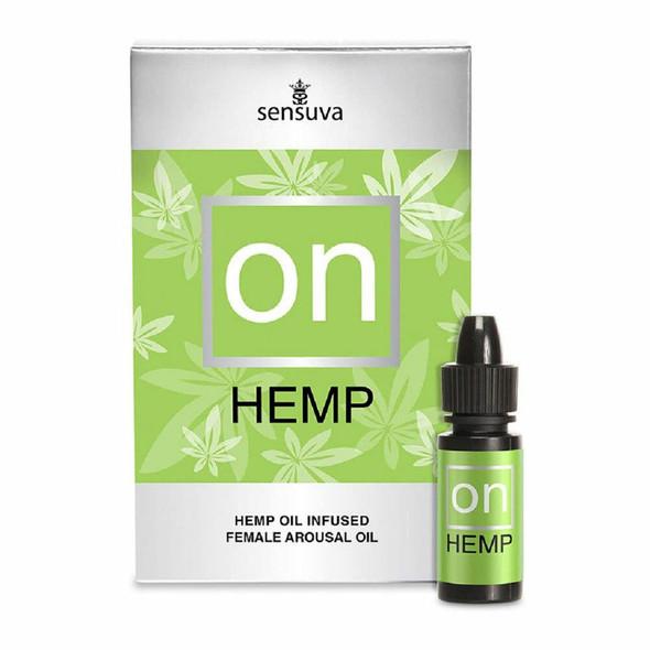 Sensuva On for Her Hemp Infused Arousal Oil 5 ml