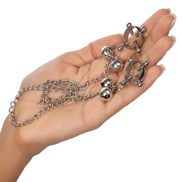 Nipple Grips 4-Point Nipple Press With Bells