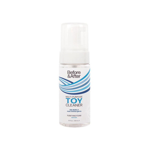 Before & After Anti-Bacterial  Foaming Toy Cleaner