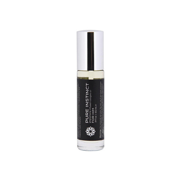 Pure Instinct Pheromone Cologne Oil For Him Roll On .35 ounces