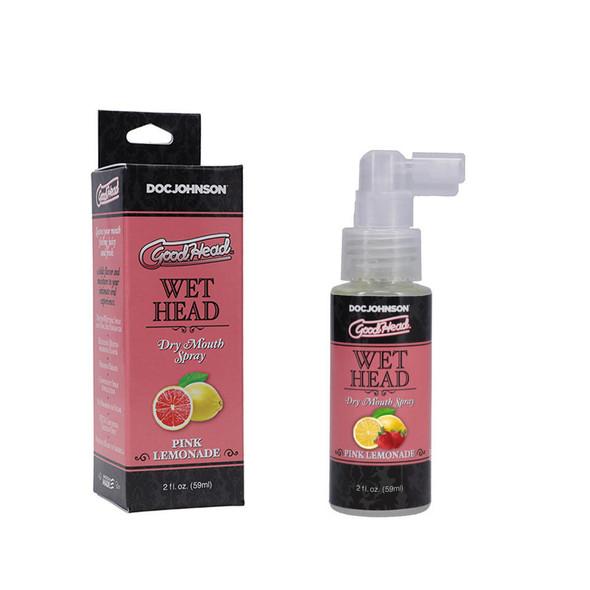 GoodHead Wet Head Dry Mouth Spray Pink Lemonade