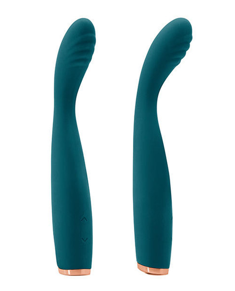 Bendable Luxe Lillie Slim Wand Massager - Teal