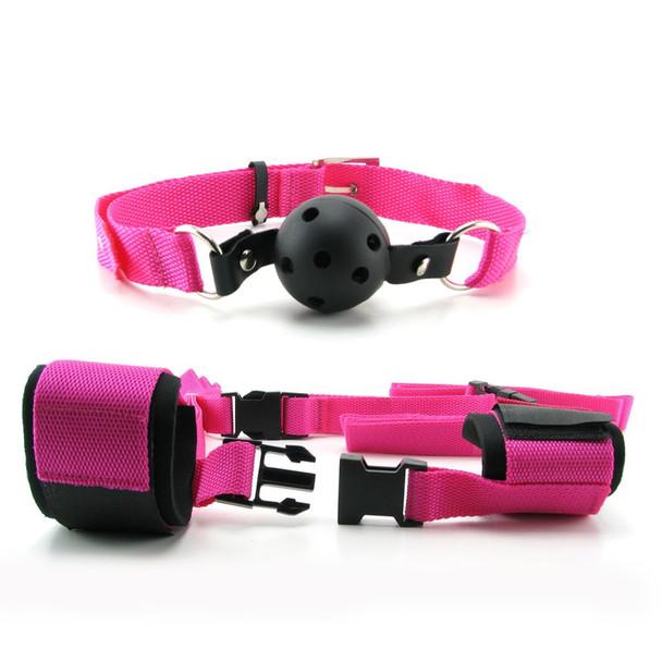 Fetish Fantasy Pink Passion Bondage Kit