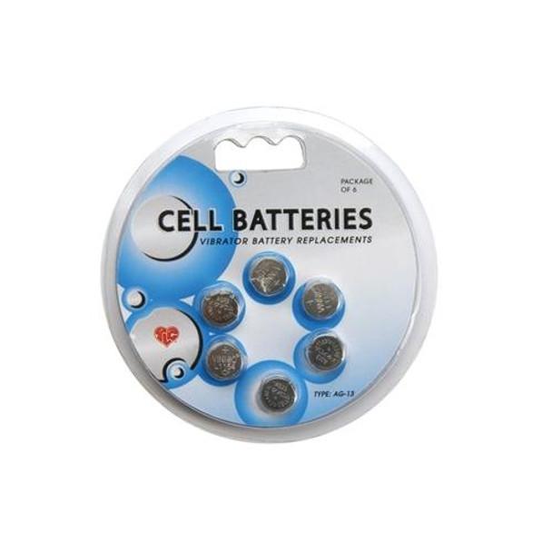 Batteries AG13 6 Pack