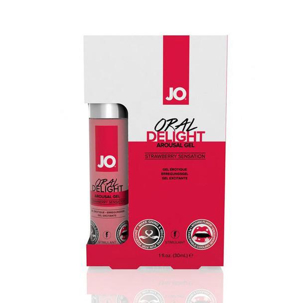 JO Oral Delight Strawberry Flavored