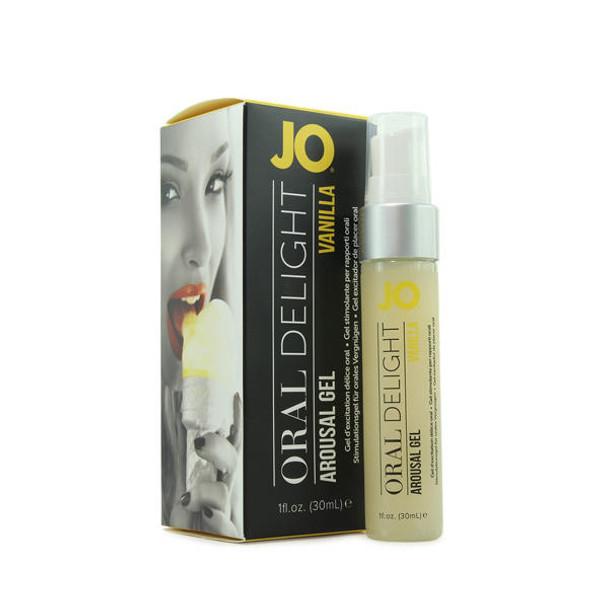 JO Oral Delight Flavored Arousal Gel Vanilla