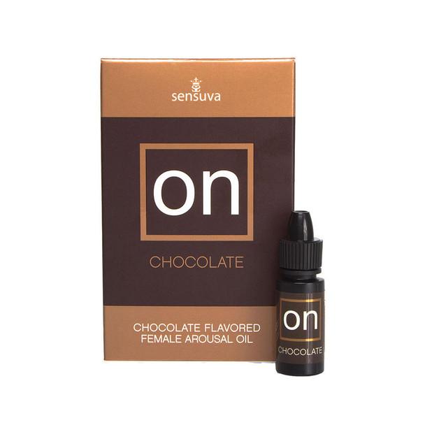 Sensuva ON Chocolate Flavored Female Arousal Oil