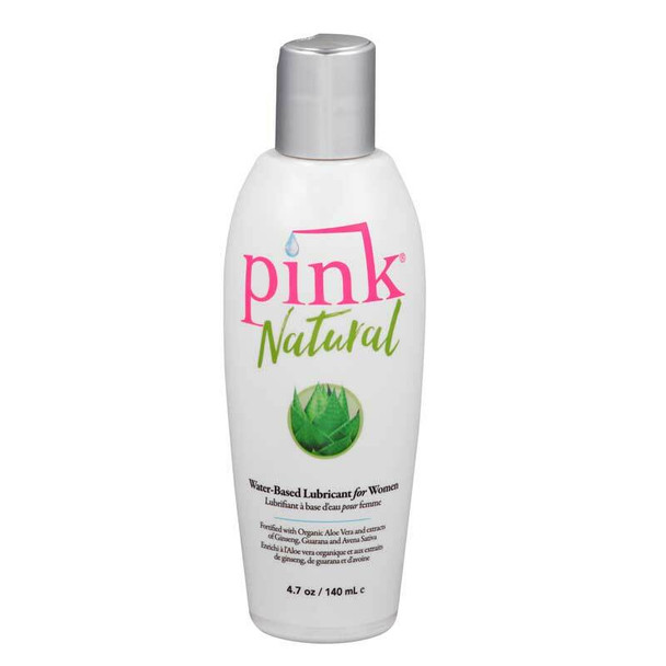 Pink Natural Personal Lubricant