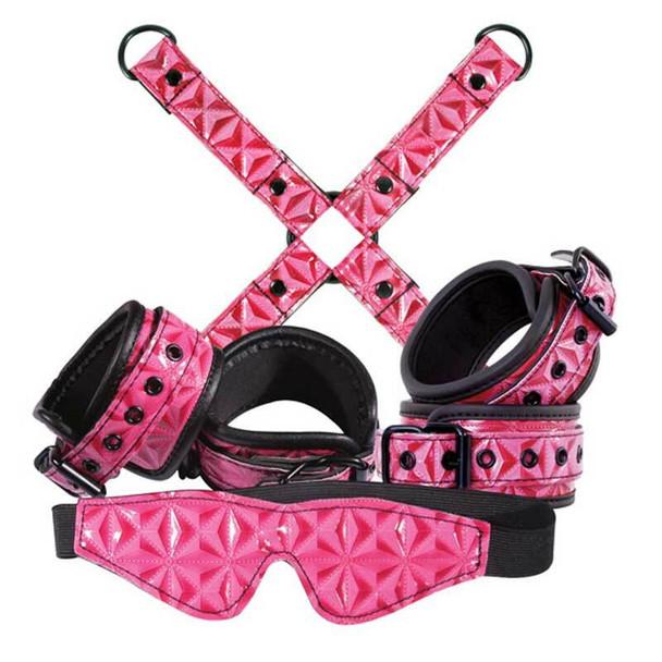 Sinful Restraint Bondage Kit in Pink