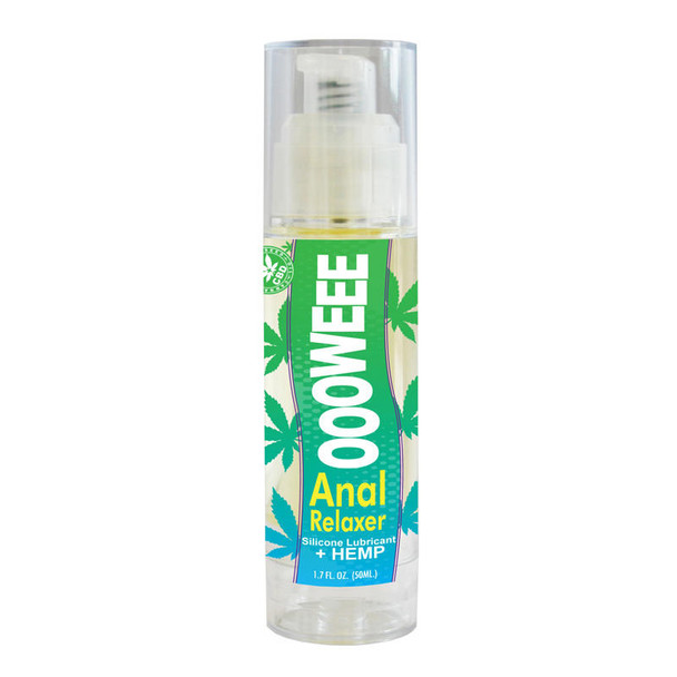 Oooweee Anal Relaxer Silicone Lubricant & Hemp