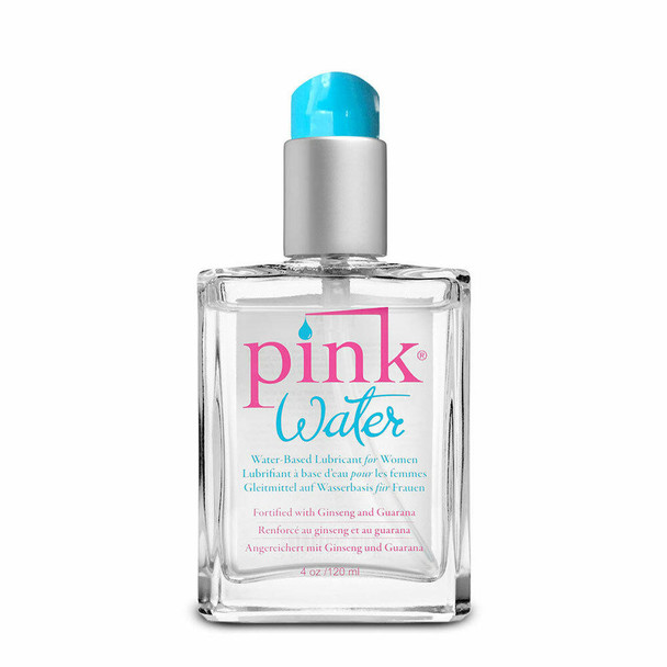 Pink Water Water-Based Lubricant 4 Oz.