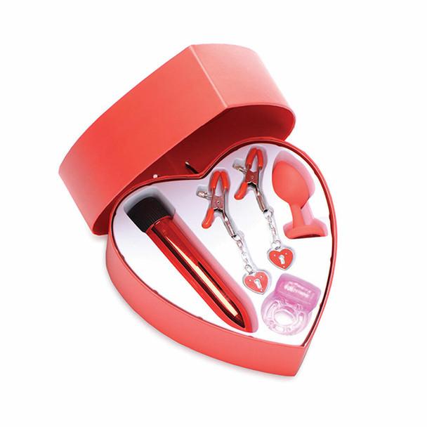 4 Piece Frisky Passion Heart Kit