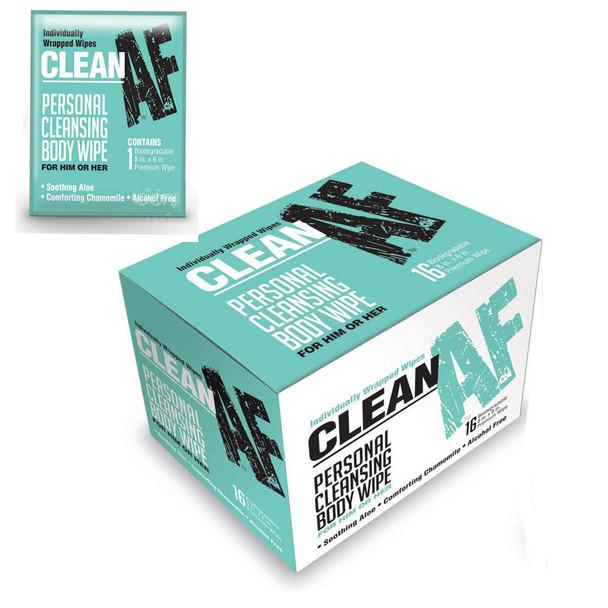 Clean AF Personal Wipes